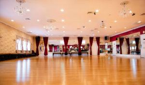 A real nice, big floor to dance on!
